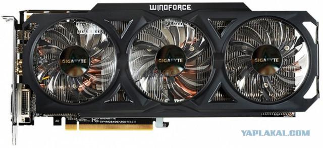 Продам GIGABYTE AMD Radeon R9 280X [GV-R928XOC-3GD]