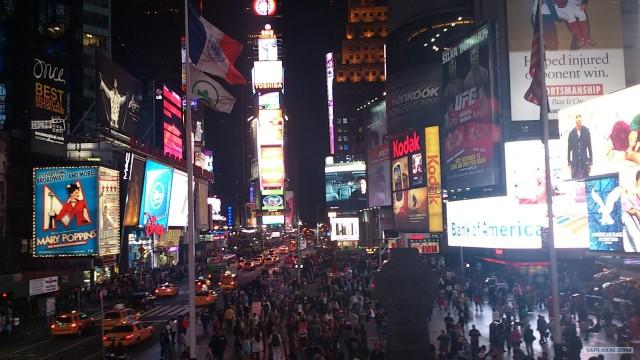 Фото отчет из Нью-Йорка