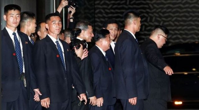 Коротко про охрану Ким Чен Ына