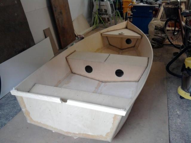 как сделать лодка с своим руками