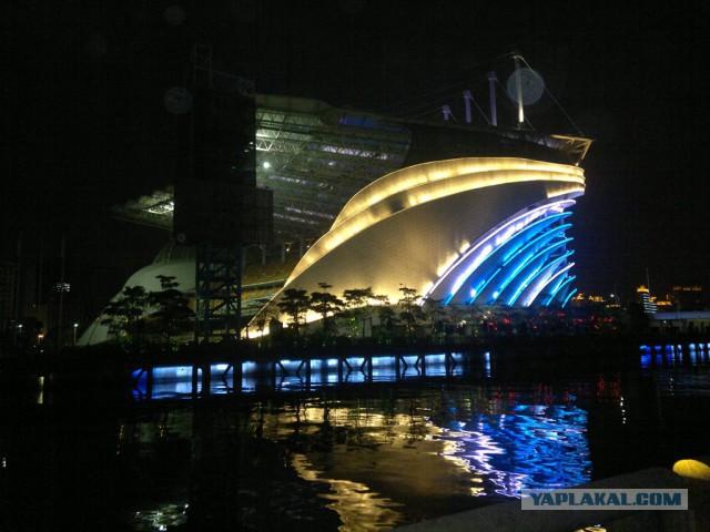 Гуанчжоу-Шанхай и окрестности.