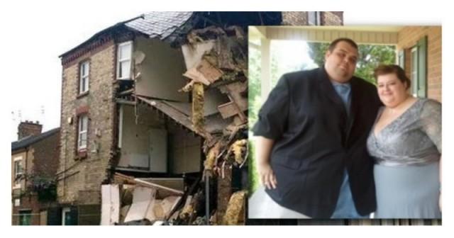 Секс британской пары разрушил трехэтажное здание