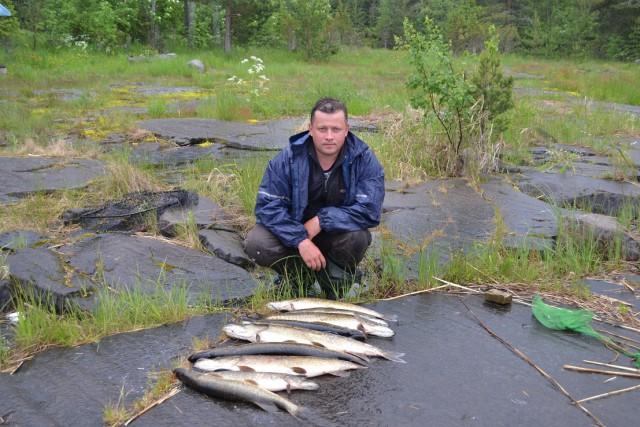 отдых с рыбалкой в карелии в июле