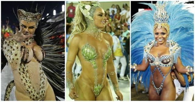 Голые танцы: как в Рио-де-Жанейро празднуют карнавал-2018