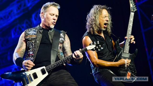 Американская рок-группа Metallica стала лауреатом международной премии Polar Music Prize