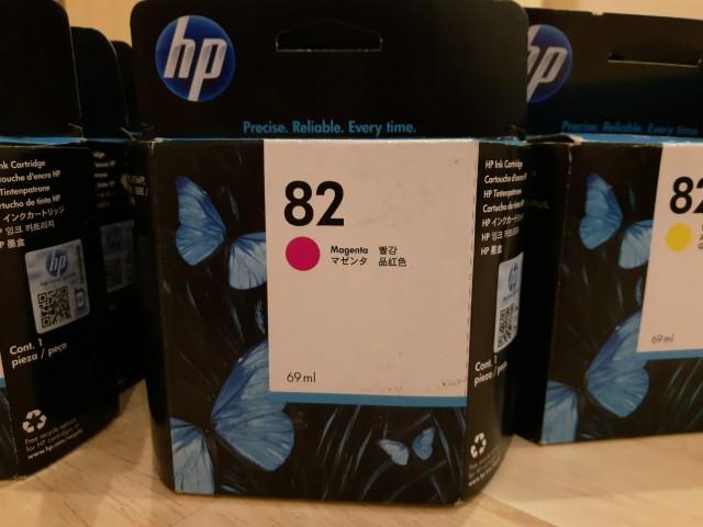 Картриджи HP: C4844A, C4911A, C4912A, C4913A