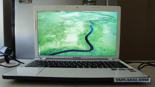 (СПБ) Продаю ноутбук Lenovo ideapad Z 580 white -  13000р