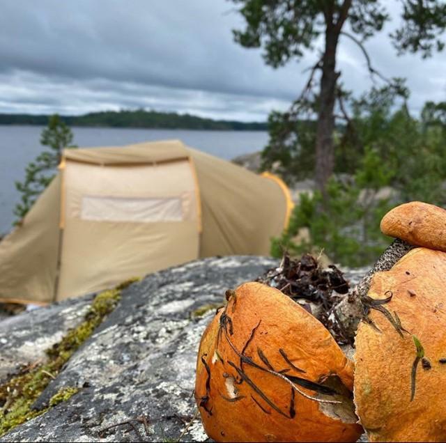 Палатку и спальник на выходные в СПб