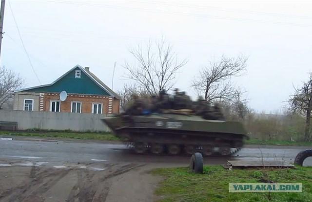 Украинские снайперы угрожают открыть огонь по