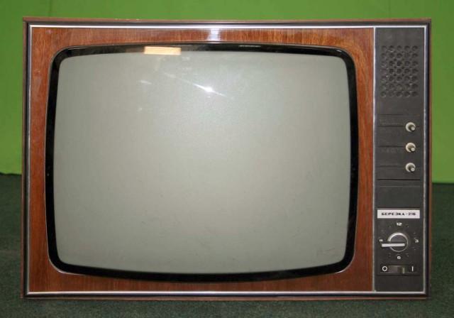 Березка-213 телевизор