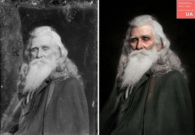 Фотограф потратил 300 часов, чтобы разукрасить чёрно-белые фотографии и вот результат