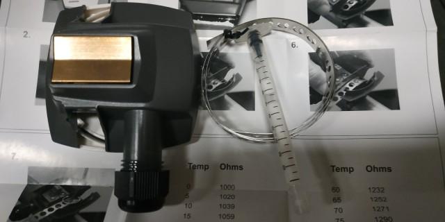 Датчики температуры воды накладные Regin (Швеция)