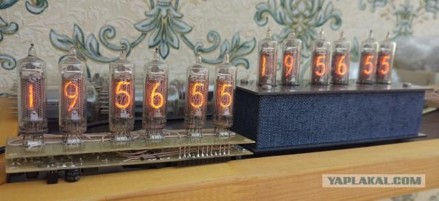 Ламповые часы Nixie clock