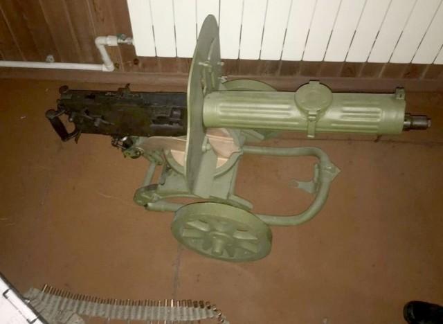Пулемёты, винтовка и патроны. ФСБ изъяла оружие у двоих жителей Кузбасса