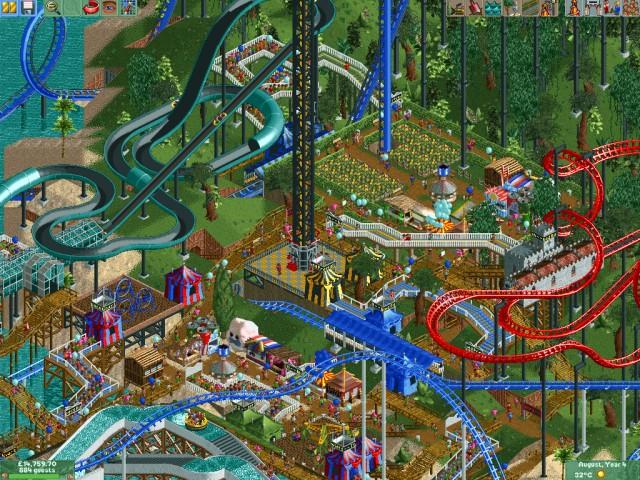 RollerCoaster Tycoon 2: Deluxe edition / Мир аттракционов.