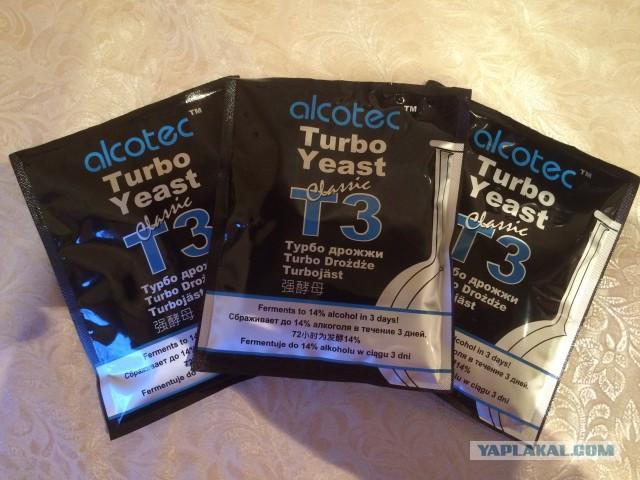Продам Спиртовые турбо дрожжи Alcotec Classic Turbo 3