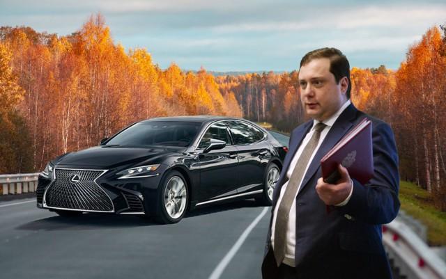 Царский подарок. Как в гараже губернатора Смоленской области появился Lexus