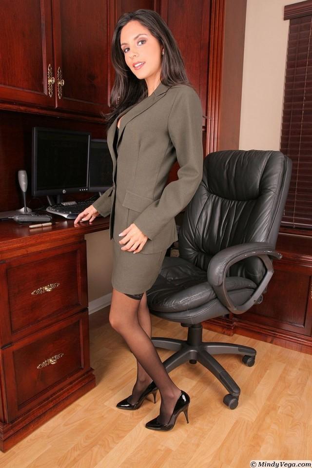 18+ Наша секретарша