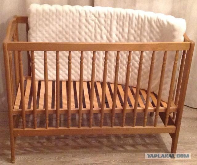 Даром детская кроватка