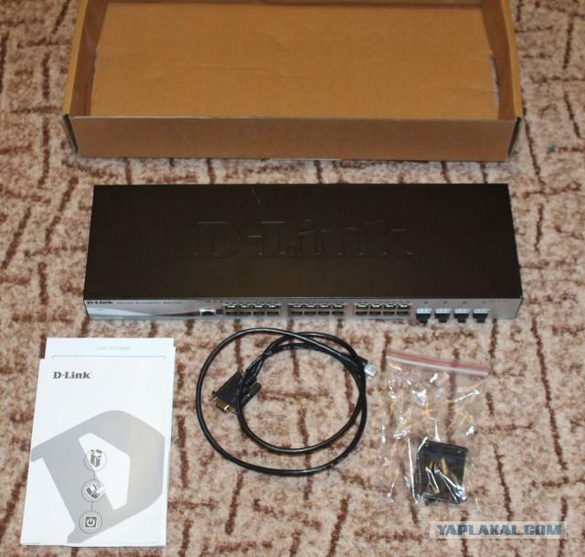 Продам коммутатор D-Link DGS-1210-28/ME.