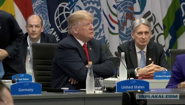 Путин и Трамп не поприветствовали друг друга на G20