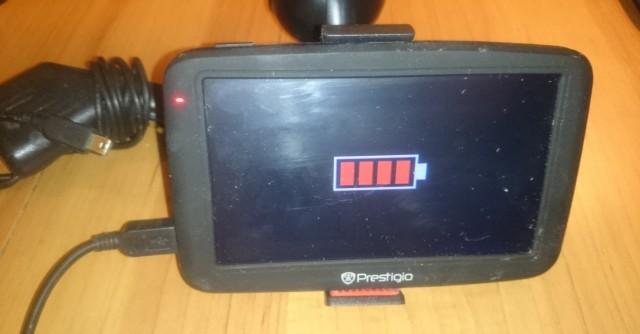 Навигатор Prestigio GeoVision 5055, Питер