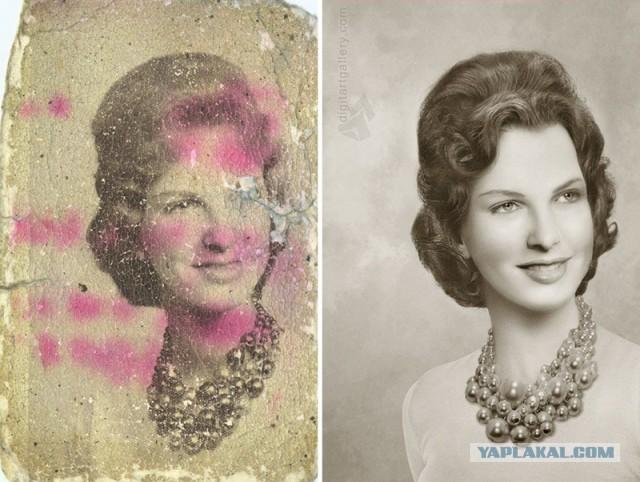 Настоящие чудеса со старыми фотографиями