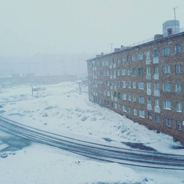 В Норильске тем временем конец мая. Скоро, говорят, лето...