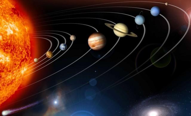 Почему орбиты всех планет Солнечной системы находятся в одной плоскости