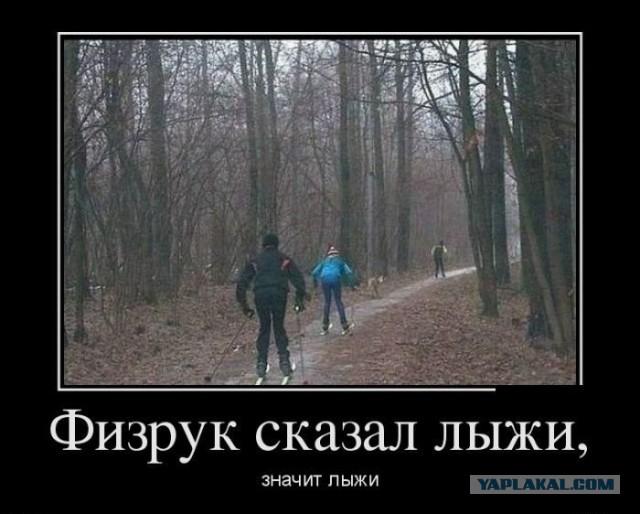 Нужны лыжи....