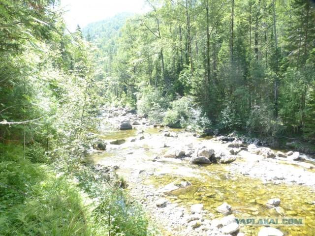 Прогулка по Кырен-реке