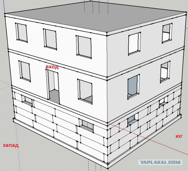Строительство дома, или как я провел лето 2015