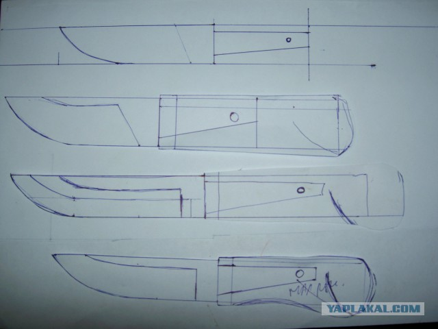 Лапландский нож из говна и палок