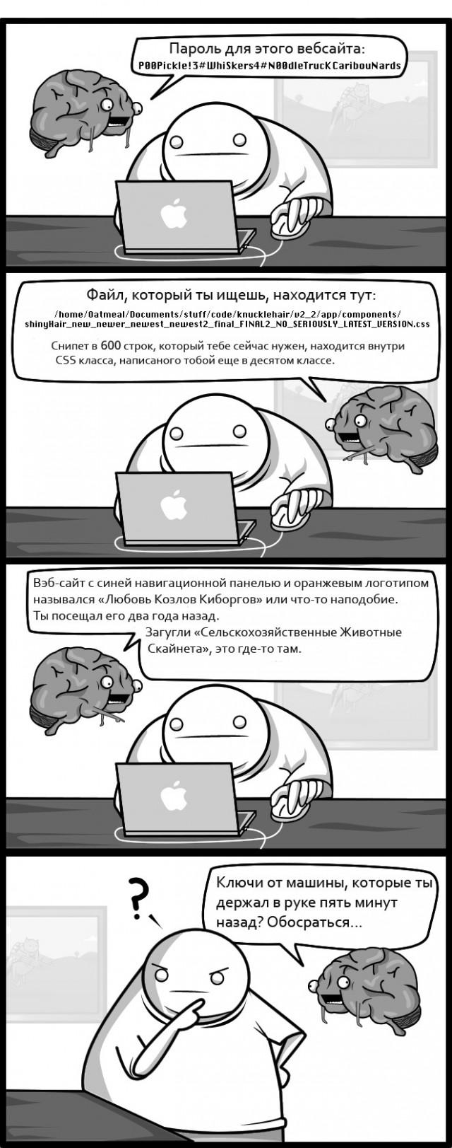 Если бы мой мозг был бы моим воображаемым другом.
