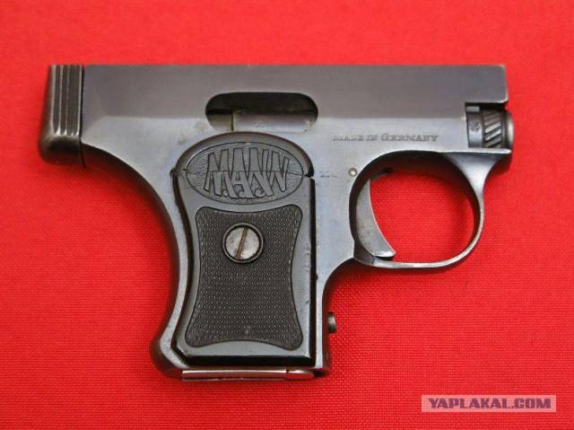 Уродец? Забавная вещица? ХЗ. Пистолет Манн модель 1920/1921 года