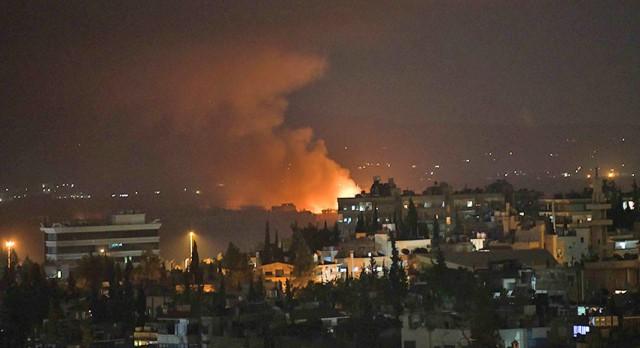 Дамаск: Израиль снова бомбит Сирию