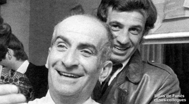 Жан Поль Бельмондо и Луи де Фюнес