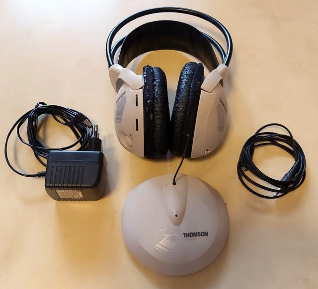 Радионаушники Thomson WHP350 - на сидр