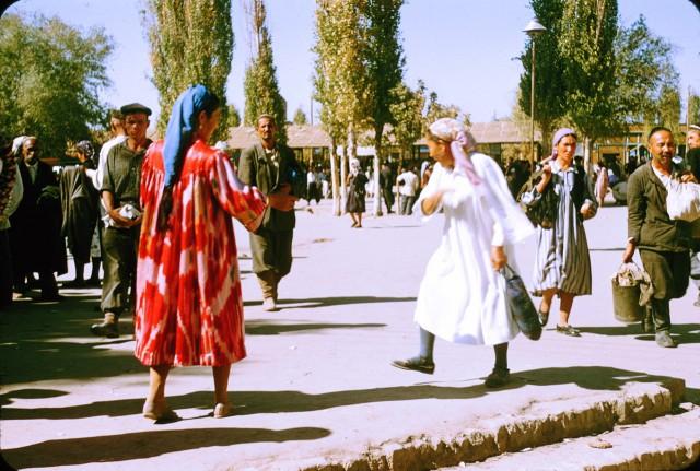 СССР глазами иностранцев: Жак Дюпакье в Ташкенте 1956 г.