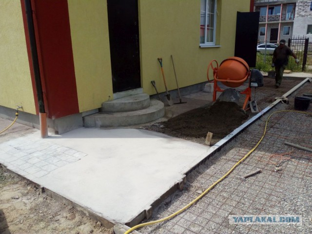 Печатный бетон. Строительства пост