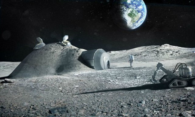 ESA собирается заменить МКС лунной базой