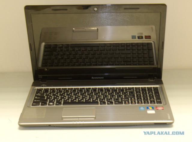 Ноут Lenovo Z565  гретый