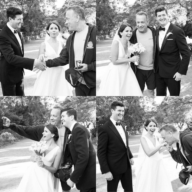 Случайный прохожий может испортить свадебное фото, а может сделать его незабываемым!