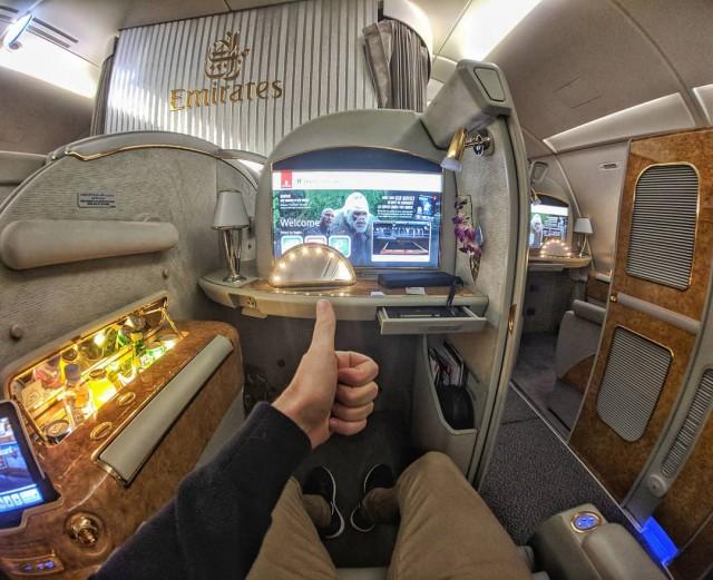 Как выглядит первый класс в разных авиакомпаниях