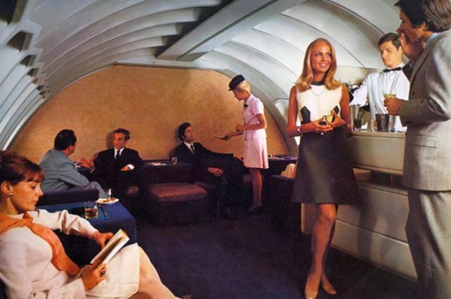 Путешествия первым классом в 50-е - 70-е годы