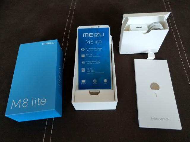 Продам смартфон Meizu M8 Lite белый (новый, ЕАС)