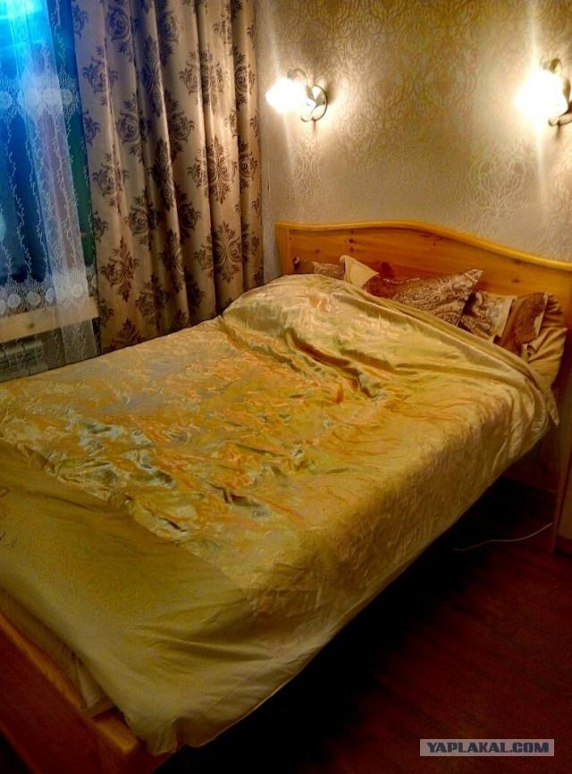 Как я кровать и спальню мастерил