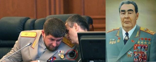 Кадырову не даёт покоя слава Брежнева