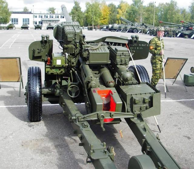 Советская послевоенная противотанковая артиллерия