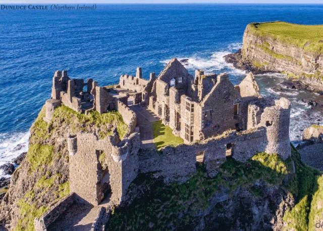 GIF-анимации, которые показывают, как выглядели замки Великобритании